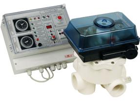 4 Aquastar mit Poolkontroll-Elektronik