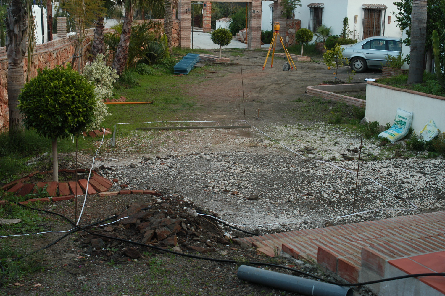 1 Garten vorher