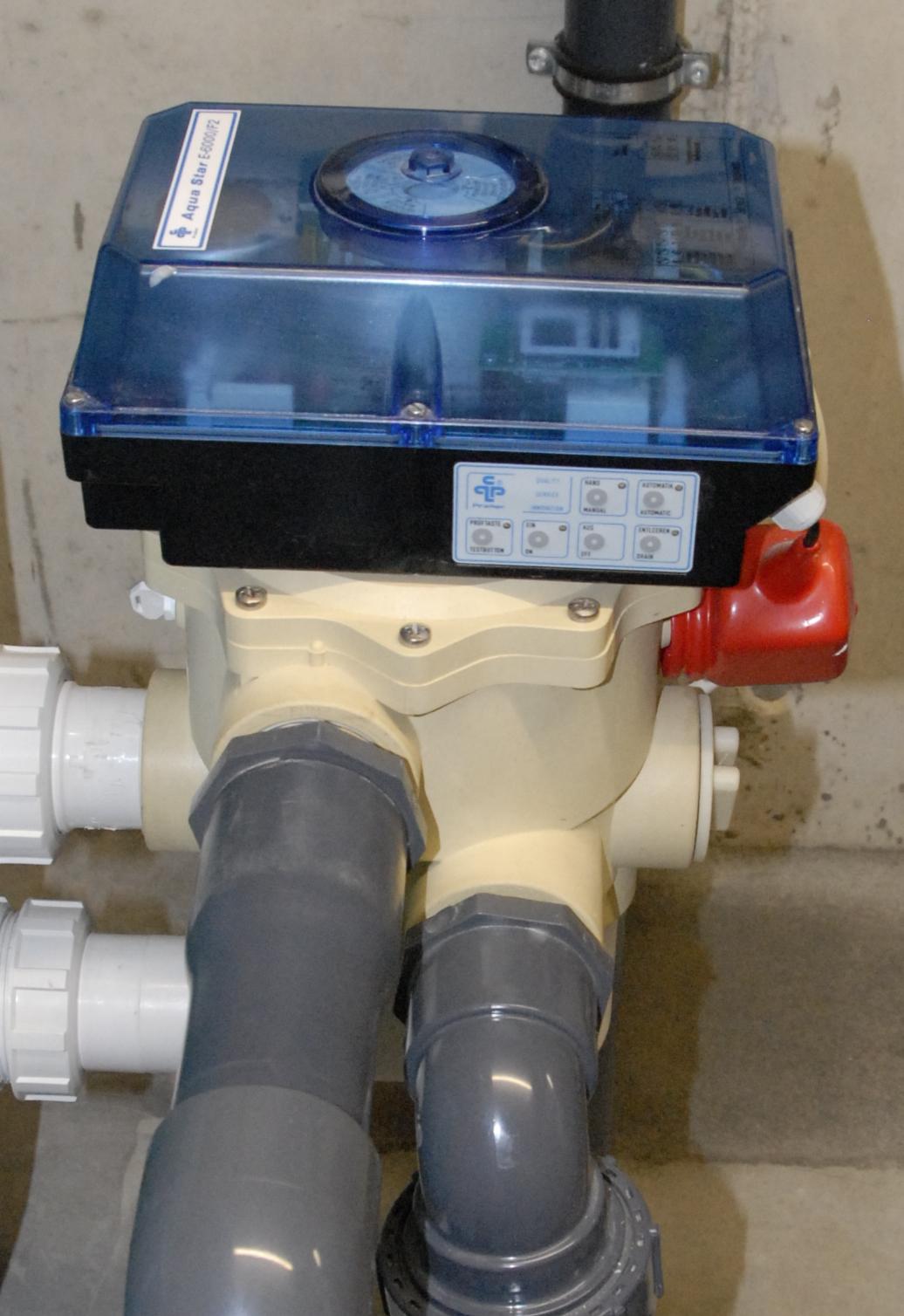 4 Aquastar 6 Wege Filtersteuerung