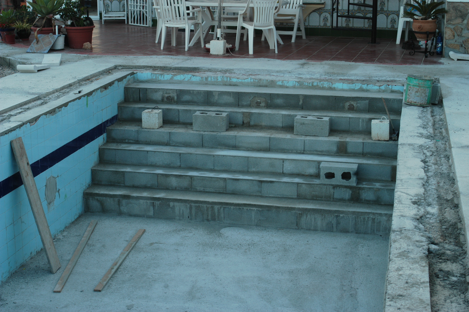 7 Treppe mit Sitzstufe