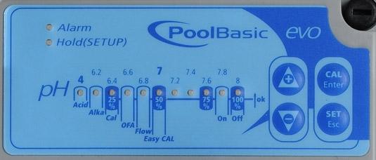 Pool BASIC EVO LED Anzeige