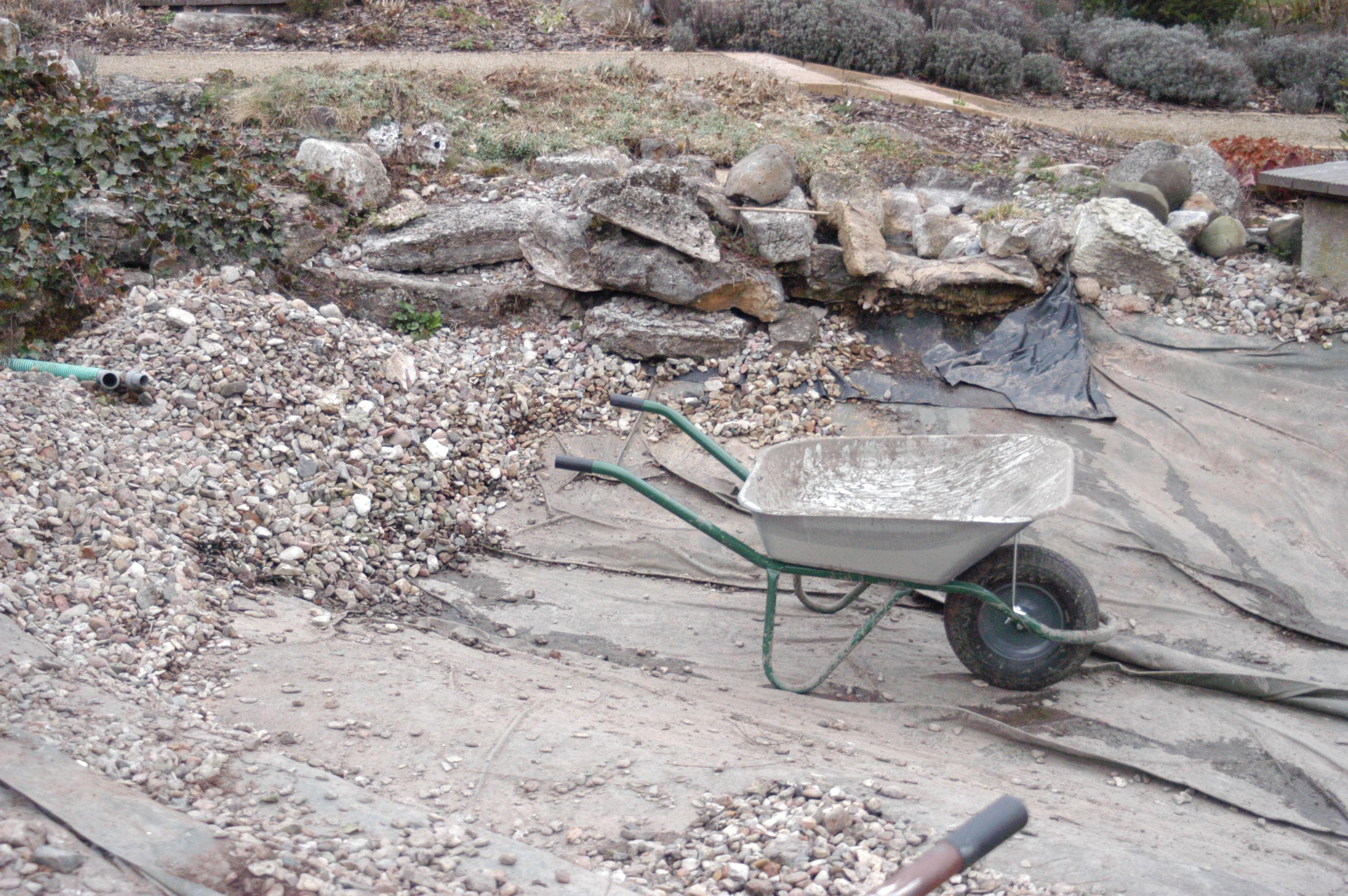 gartenteich – sanierung und erweiterung – swiss water consulting, Garten und Bauen