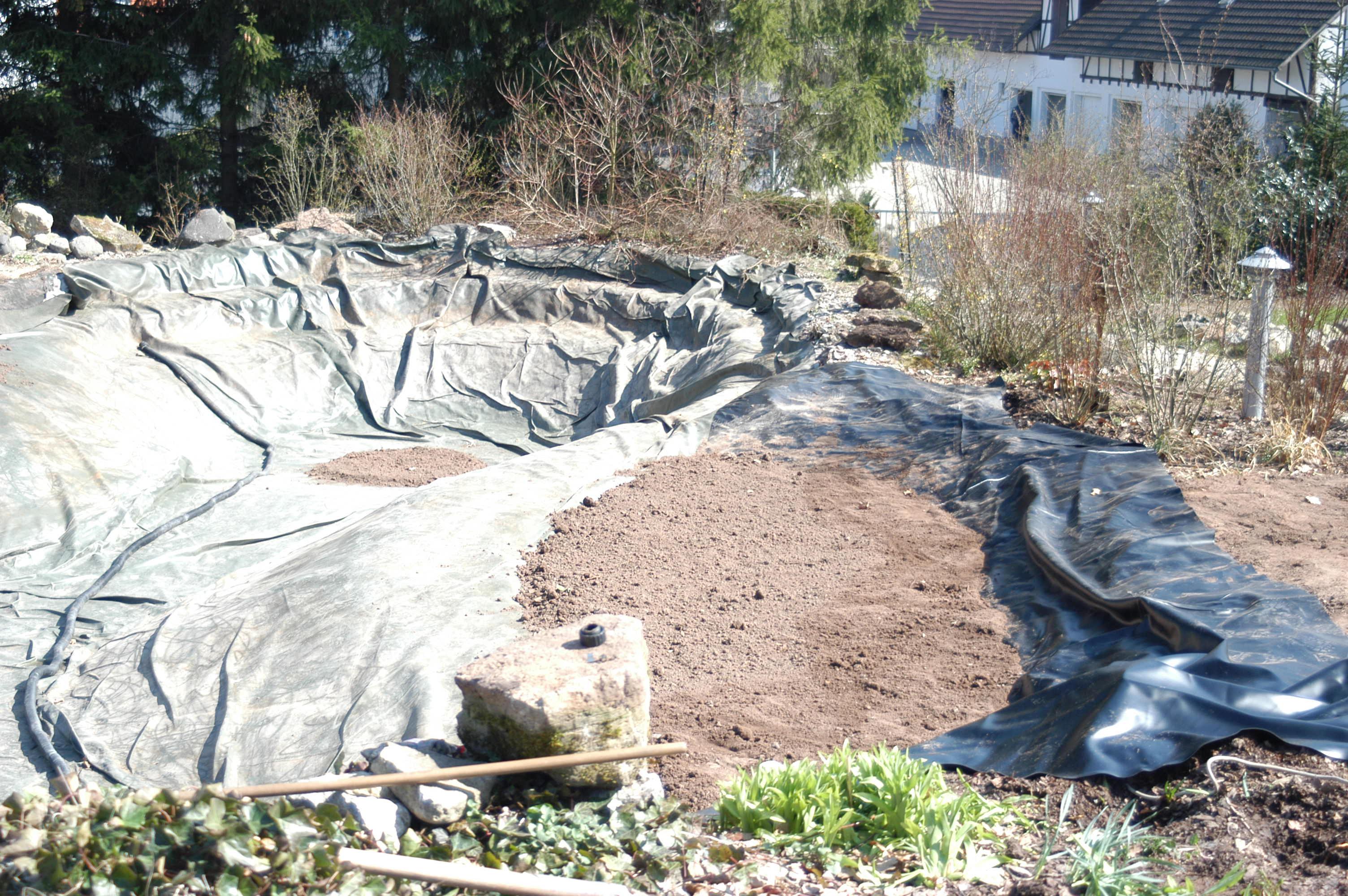 Gartenteich sanierung und erweiterung swiss water for Gartenteich einrichten