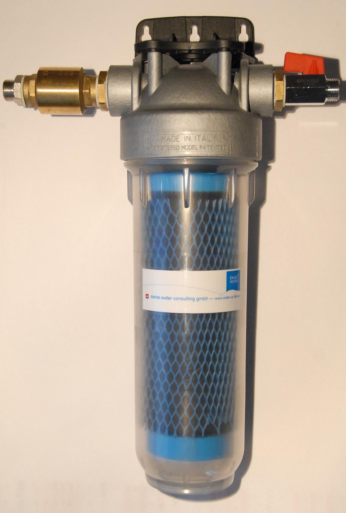 Filtergehäuse Antimikrobiell